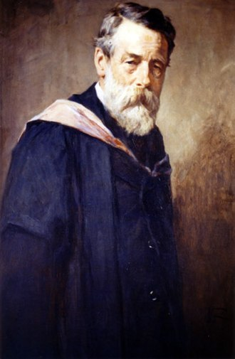 James Leigh Strachan-Davidson - Portrait, oil on canvas, of James Leigh Strachan-Davidson (1843–1916) by Sir George Reid (1841–1913).