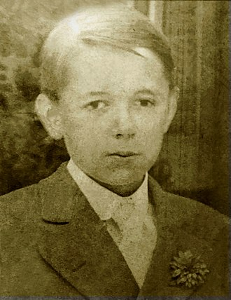 James Thurber - James Thurber at age 14.