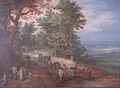Jan Brueghel the Elder, Landscape with Pack Train.JPG