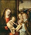 Jan Provost- Madona com o Menino e Dois Anjos.jpg