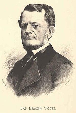 Jan Erazim Vocel - Photo portrait by Jan Vilímek