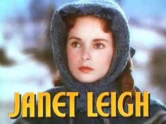Janet Leigh - Leigh in the trailer for Little Women (1949)