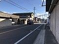 Japan National Route 496 near Nishikimachi Inari Shrine in Miyako, Miyako, Fukuoka.jpg