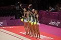 Japan Rhythmic gymnastics at the 2012 Summer Olympics (7915423422).jpg