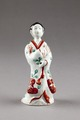 Japansk figur föreställande borgardam - Hallwylska museet - 96057.tif