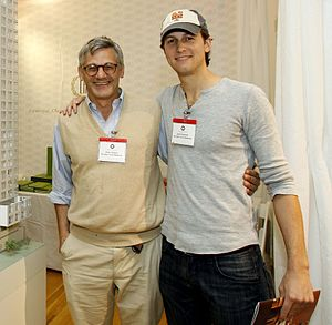 Jared Kushner - Kushner and Peter W. Kaplan in September 2008