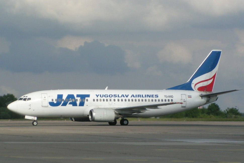 Jat Airways B737-3H9 (YU-AND) at Berlin Schönefeld Airport