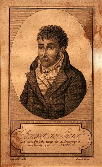 Jean-Baptiste Charles Bouvet de Lozier - Jean-Baptiste Charles Bouvet de Lozier