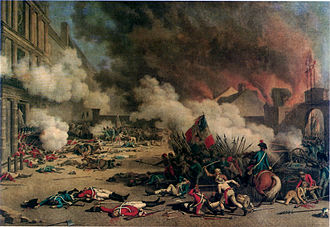 French Royal Army (1652–1830) - Massacre of the Swiss Guards, 1792