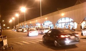Jeddah airport night