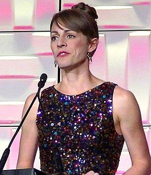 Jennifer Simpson - Jenny Simpson accepting the 2014 Jackie Joyner Kersee Award