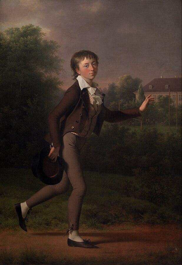 A Running Boy. Marcus Holst von Schmidten