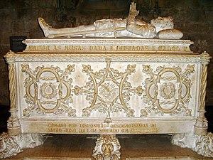 Português: Luís Vaz de Camões: túmulo no Moste...
