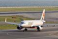 Jetstar Asia Airways, 3K722, Airbus A320-232, 9V-JSV, Departed to Singapore via Taipei, Kansai Airport (17011255799).jpg
