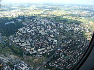 Prague 11 - Aerial view of Jižní Město