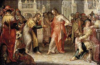 Render unto Caesar - Joachim Wtewael – The Tribute Money