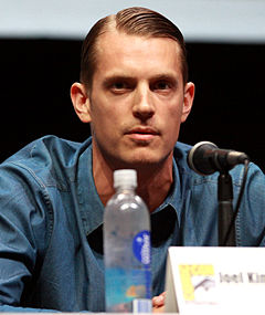 Joel Kinnaman vid San Diego Comic-Con International 2013.