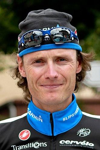 Johan Vansummeren - Vansummeren at the 2011 Critérium du Dauphiné