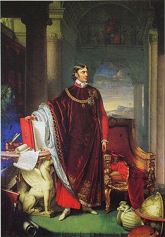 Ferenc Széchényi - Image: Johann Ender Portrait of Ferenc Széchényi