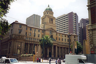 Gauteng - The Johannesburg City Hall, home of the Gauteng Provincial Legislature