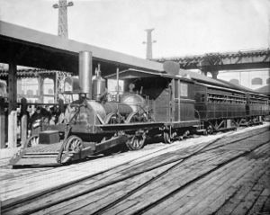 John Bull (locomotive) - John Bull at the World's Columbian Exposition in 1893