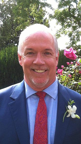 Premier of British Columbia - Image: John Horgan Sept 2017