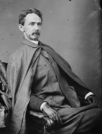 Prospect Hill Cemetery (Washington, D.C.) - Senator John James Ingalls sponsored the legislation that amended the cemetery's charter in 1886.