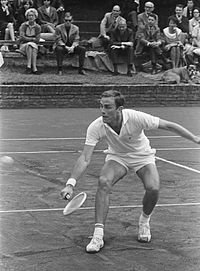 Newcombe won 6 tour titles