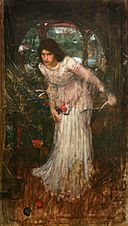 John William Waterhouse - The Lady of Shalott (from the poem by Tennyson).jpg