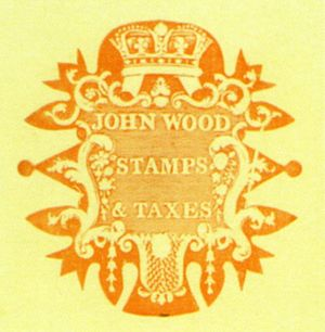 John Wood (civil servant) - John Wood's personal embossing die.