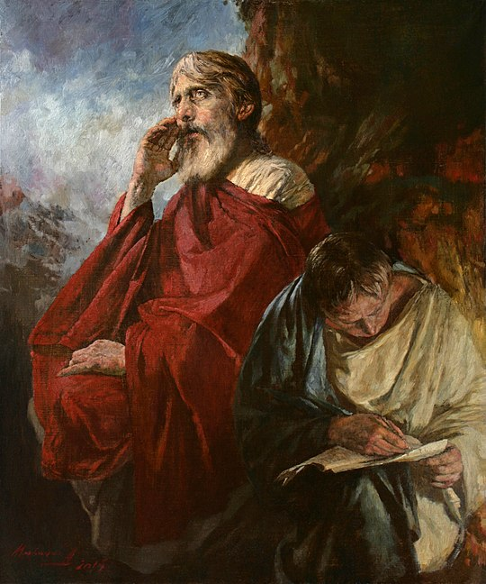 John the Theologian and Prokhor. Mironov.jpg