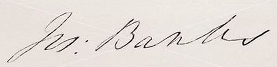 Joseph Banks Sig