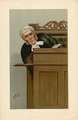 Judge Bacon Vanity Fair 4 November 1897