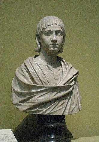 Julia Avita Mamaea - Bust of Julia Mamaea, Pushkin Museum