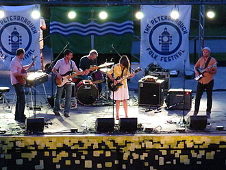 Wooden Stars - Image: Julie Doiron and the Wooden Stars at the Peterborough Folk Festival 2014 05