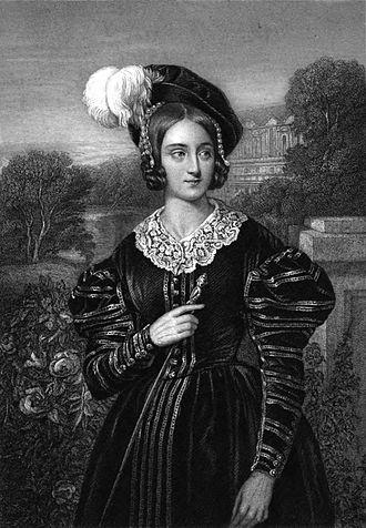 Julie Dorus-Gras - Julie Dorus-Gras as Marguerite de Valois in Les Huguenots, a role she created at the world premiere at the Paris Opera on 29 February 1836
