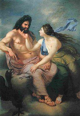 Julien de Parme Giove e Teti 1776