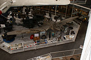 Junkers Ju-87B Stuka Fuselage unrestored AboveRFront SATM 05June2013 (14600063352).jpg
