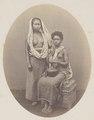 KITLV 4393 - Isidore van Kinsbergen - Balinese and a Papuan slave Rajah of Boeleleng - 1865.tif