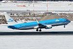 KLM, PH-BXI, Boeing 737-8K2 (40269351395).jpg