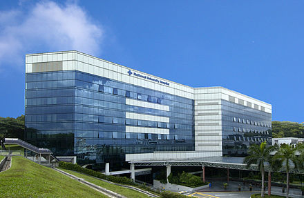 National University Hospital is the second largest hospital in the city, serving one million patients yearly.