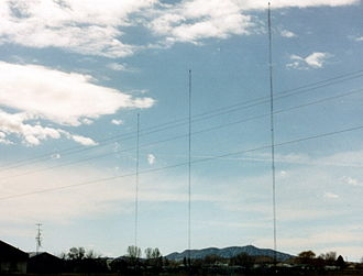 KVEL - KVEL's radio towers are located outside of Vernal, Utah.