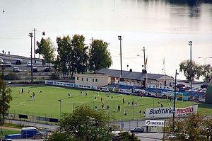 Kadettangen - The main football field