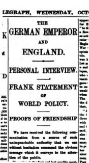 <i>Daily Telegraph</i> Affair political scandal
