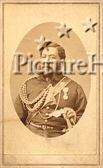 Kalakaua, carte de visite by Menzies Dickson, undated.jpg