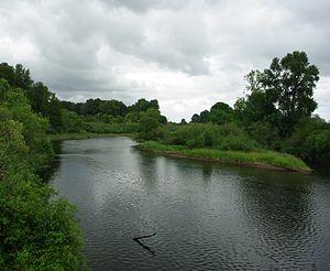 Kalama River - Near the mouth at Kalama