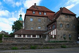 This is a photograph of an architectural monument.It is on the list of cultural monuments of Kalchreuth, no. D-5-72-137-8