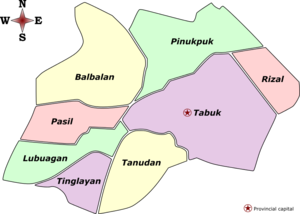 Kalinga Labelled Map.png