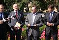 Kandydat Maciej Kulka, prezydent Lublina Krzysztof Żuk, wiceminister i kandydat Włodzimierz Karpiński, kandydat Cezary Kucharski oraz Poseł i Kandydat Grzegorz Raniewicz (6120652934).jpg