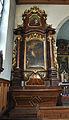 Kapuzinerkloster Solothurn - Seitenaltar - Christuskind, Josef von Nazaret.jpg